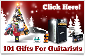 101 Christmas Gift Ideas for Guitarists