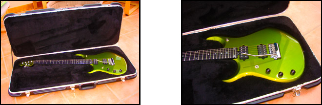 Shipping A Left Handed Guitar in a Hardcase MusicMan