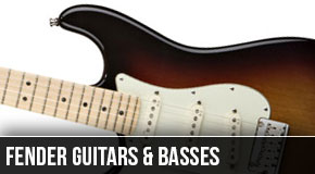 Fender : Left Handed Guitars and Basses 2012