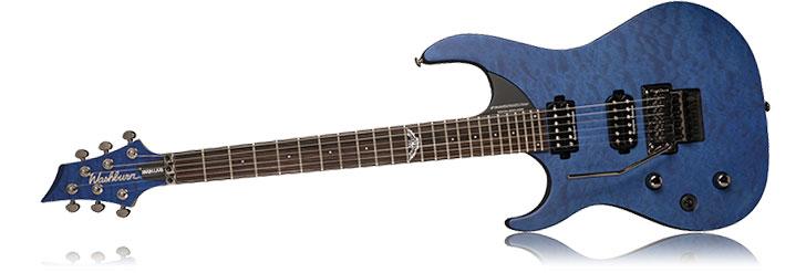 Washburn PXM10FRQTBLMLH Left Handed Guitar
