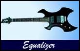 Gaskell Equalizer Left Handed Guitar Lefty