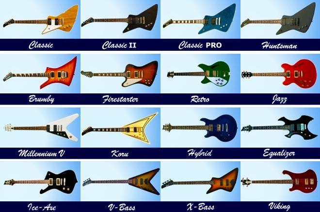 Gaskell Left Handed Guitars Lefty