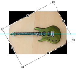 guitar photoshop guide rotating the image