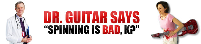 Guitar Injury Stabbed Death Blood Spin Fail
