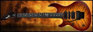 Ruokangas Hellcat Artist Left Handed Guitar Lefty