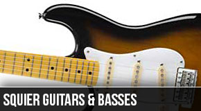 Squier : Left Handed Guitar Models 2010