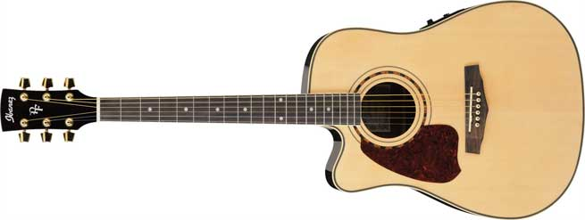 Ibanez Left Handed Acoustic Guitar Range 2010 Leftyfretz