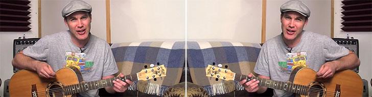 Justin Sandercoe Left Handed Guitar Lesson