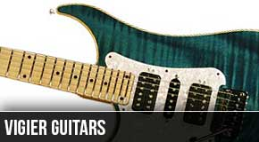 Vigier : Left Handed Guitars 2010