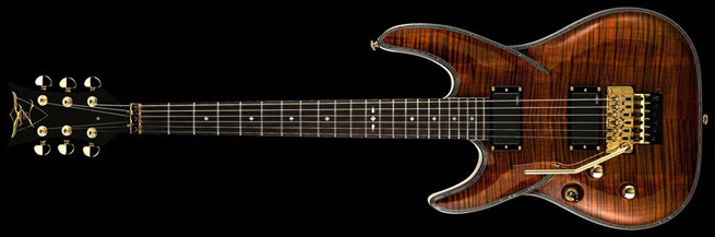 DBZ Barchetta Eminent FR Left Handed Guitar Lefty