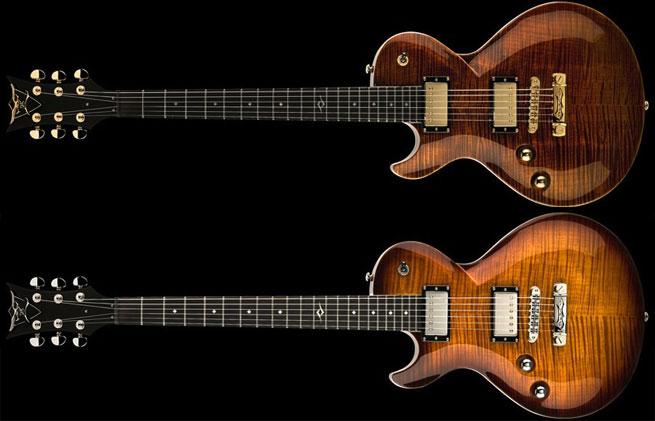 DBZ Bolero FM Left Handed Guitar Lefty