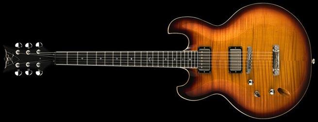 DBZ Imperial FM Left Handed Guitar Lefty