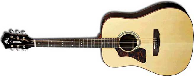 Guild GAD 50L Left Handed Acoustic Guitar Lefty