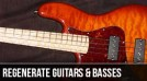 Regenerate Guitar Works : Left Handed Custom Bass Guitars