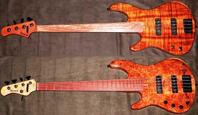 Regenerate M Series Left Handed Bass Guitars Lefty