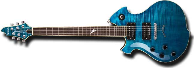 Mensinger Arcadia Left Handed Guitar Lefty