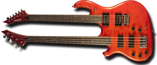 Mensinger Beast Left Handed Guitar Lefty