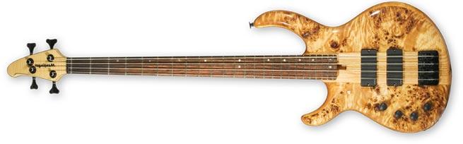 Mensinger Buzzaro Left Handed Bass Guitar Lefty