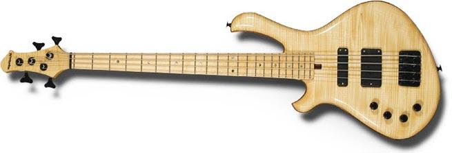 Mensinger Cazpar Left Handed Bass Guitar Lefty