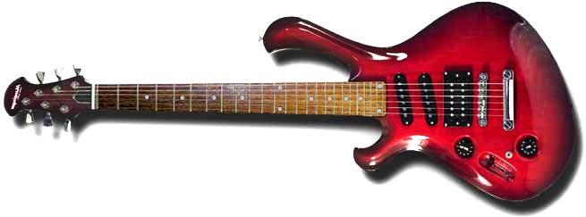 Mensinger Columbia Left Handed Guitar Lefty