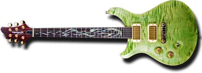 Mensinger Joker Left Handed Guitar Lefty