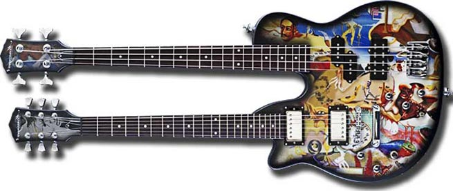 Mensinger Predator Left Handed Guitar Lefty