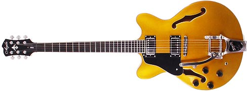 Agile AS-1000 Bigsby in Gold Left Handed Lefty