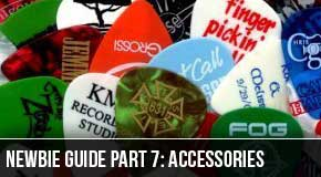 Newbie Series Part7 : Guitar Accessories