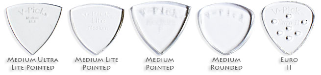 V-Picks Guitar Picks Review Plectrum Left Handed