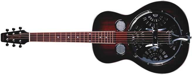 Wechter RS-6510R Left Handed Resonator Guitar Lefty