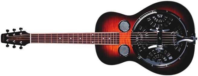 Wechter RS-6524R Left Handed Resonator Guitar Lefty