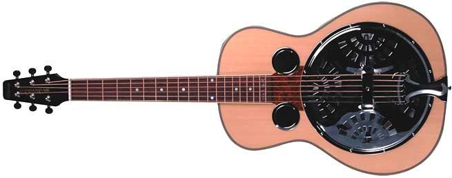 Wechter RS-6535R Left Handed Resonator Guitar Lefty