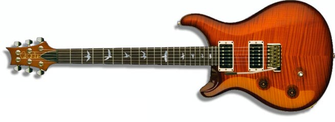 An example of the limited run of left handed PRS Custom 22s in 2011