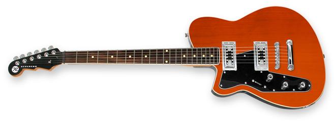 Reverend Flatroc Left Handed Guitar Lefty