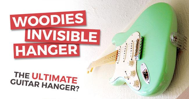 Woodies Guitar Hanger Review