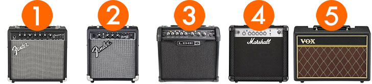 Best Beginner Guitar Amps Under $100