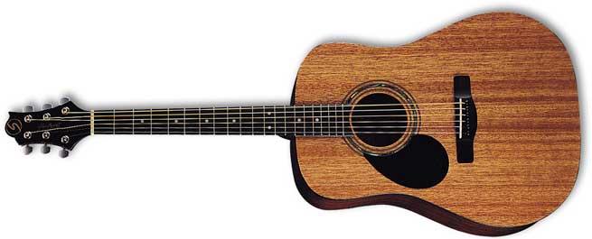 Greg Bennett D1 Left Handed Guitar Lefty