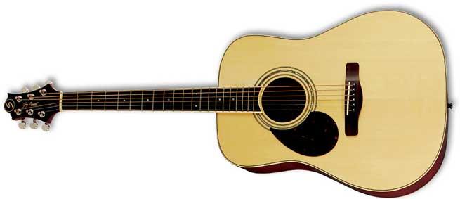Greg Bennett D5 Left Handed Guitar Lefty