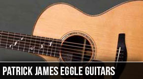 Patrick James Eggle : Left Handed Acoustic Guitars