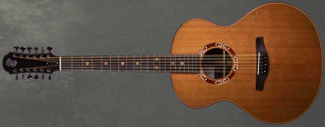 Patrick James Eggle Saluda 12-String Left Handed Acoustic Guitar Lefty