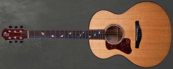 Patrick James Eggle Saluda Left Handed Acoustic Guitar Lefty