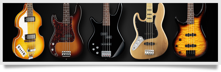 Best Left Handed Bass Guitars