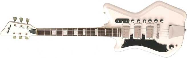 Eastwood Airline 3P DLX Left Handed Guitar Lefty