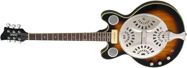 Eastwood Delta 6 Left Handed Guitar Lefty