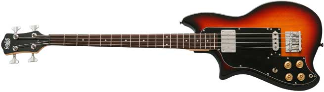 Eastwood Magnum Left Handed Bass Guitar Lefty