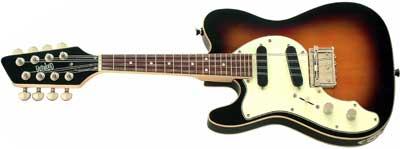 Eastwood Mandocaster Left Handed Guitar Lefty