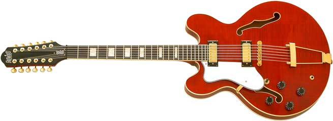 Eastwood Nashville 12 Left Handed Guitar Lefty