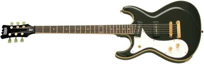Eastwood Sidejack Baritone Left Handed Guitar Lefty