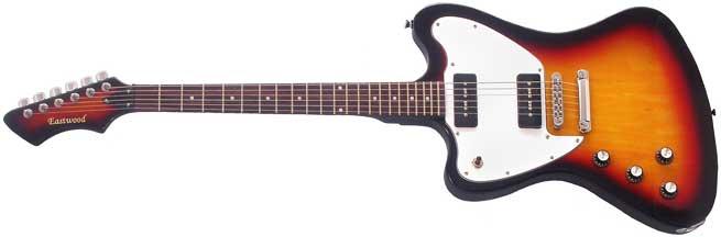 Eastwood Stormbird Left Handed Guitar Lefty
