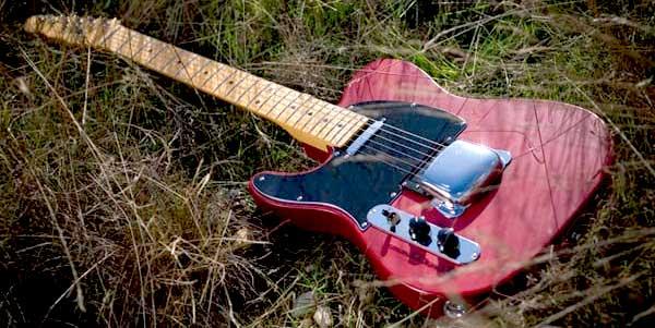 Flatline Delta 90 Left Handed Guitar Lefty